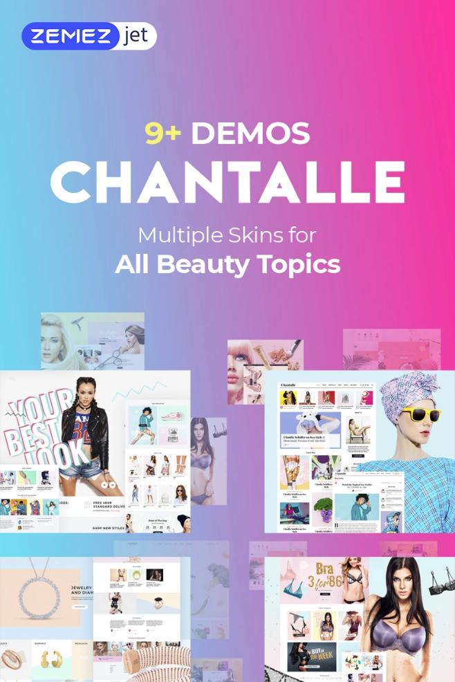 Chantalle - Multipurpose Girly Fashion WP Theme