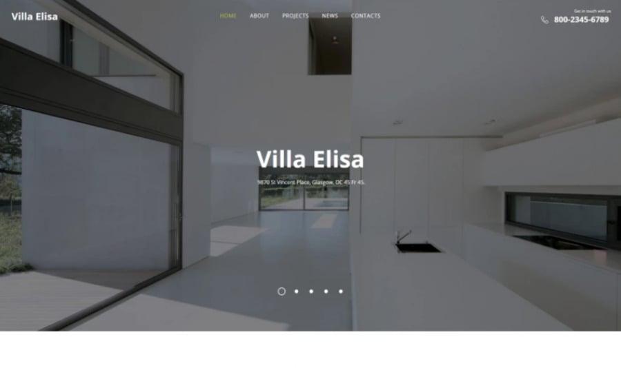 HTML Website Templates web design kit image