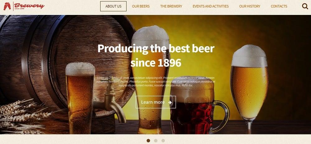 Brewery WordPress Theme