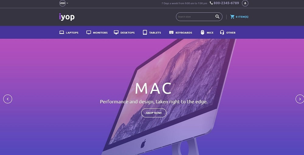 Computer Store Responsive Shopify Theme