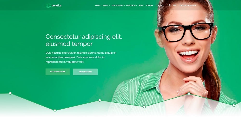 Multipurpose Creatica WordPress Theme