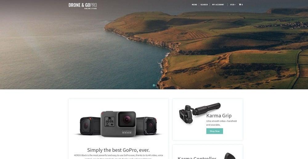 Drone Shop Shopify Theme