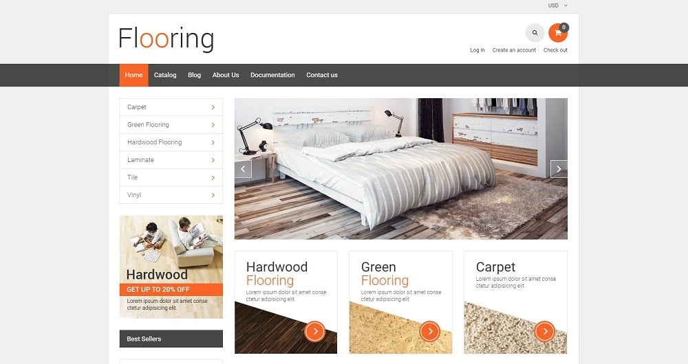 Flooring Responsive Shopify Theme