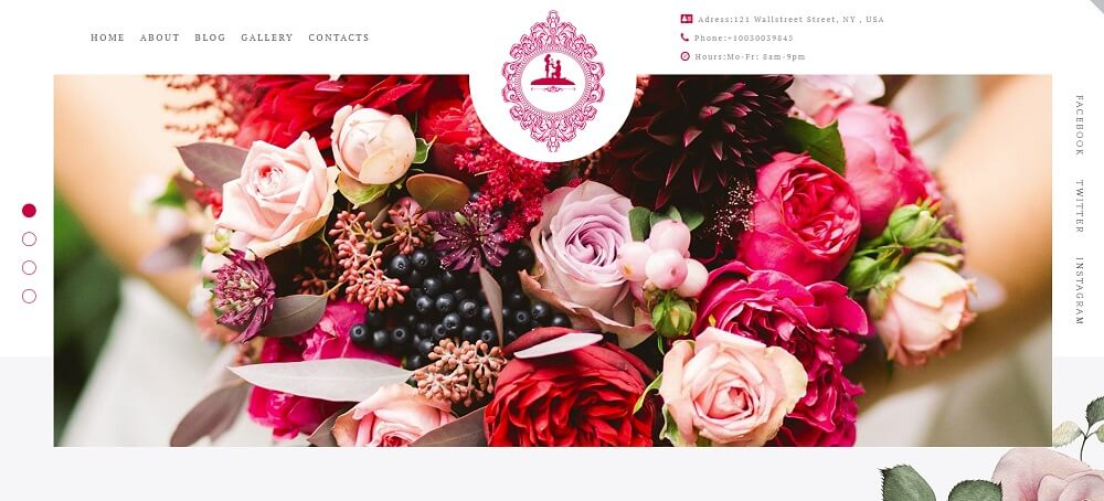 ForeverLove - Wedding Landing Elementor WordPress Them