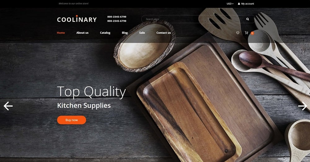 Housewares - Responsive Coolinary Shopify Theme