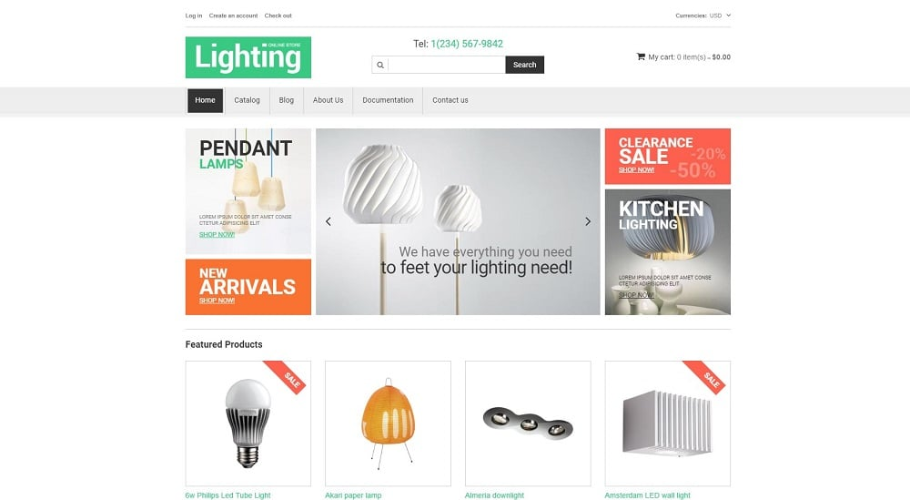 Interior Design Responsive Shopify Theme