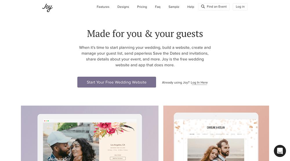 10 Best Wedding Website Builders 2020