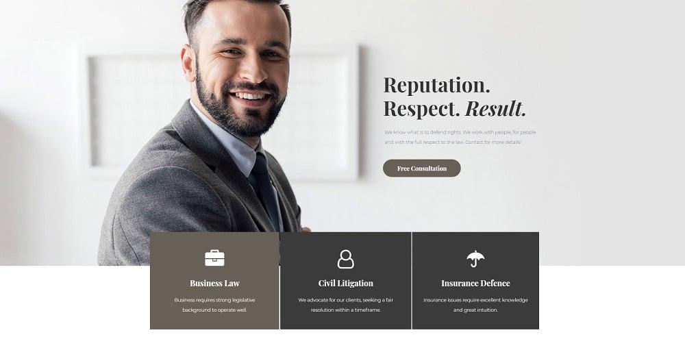 Juristos - Lawyer Pro Elementor Template