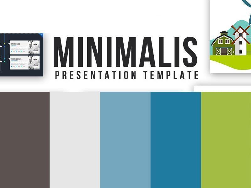 Minimalis Powerpoint Template
