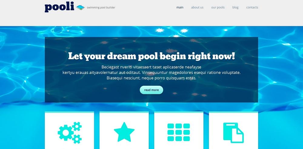 Pool Cleaning Responsive WordPress Theme