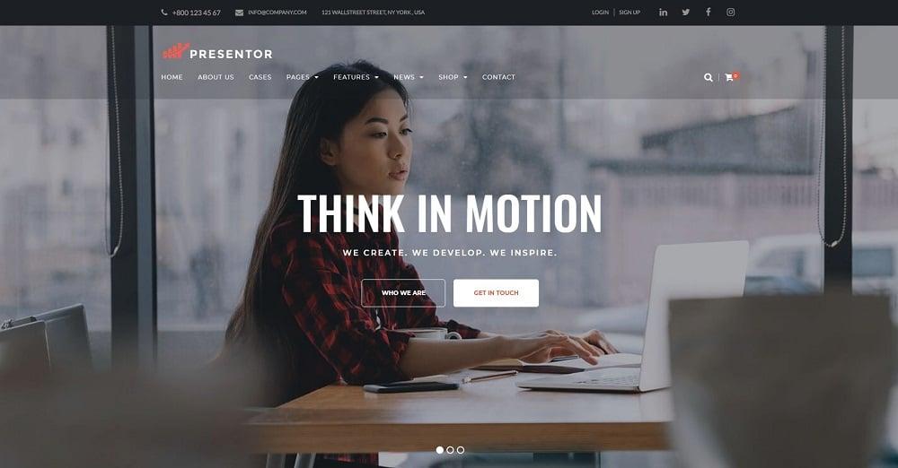 Presentor - Business WordPress Theme