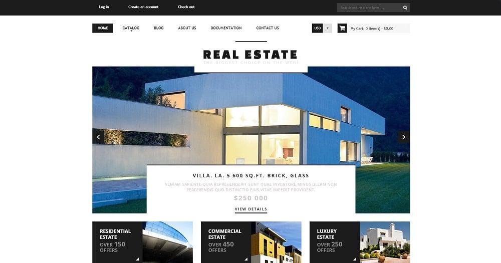 Real Estate Agency Responsive Shopify Theme