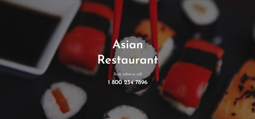 RedDragon - Asian Restaurant Elementor Template