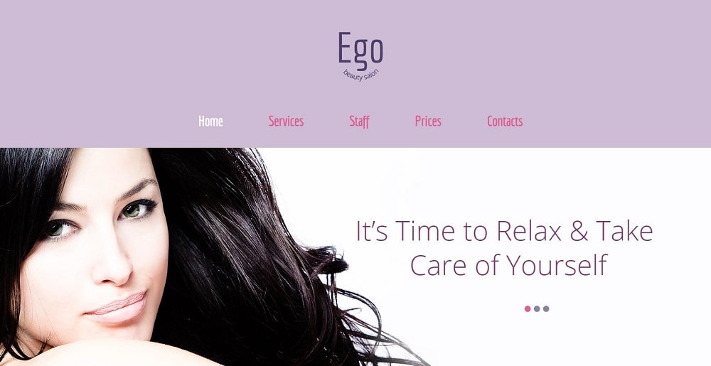 Free HTML5 Theme for Spa Salon