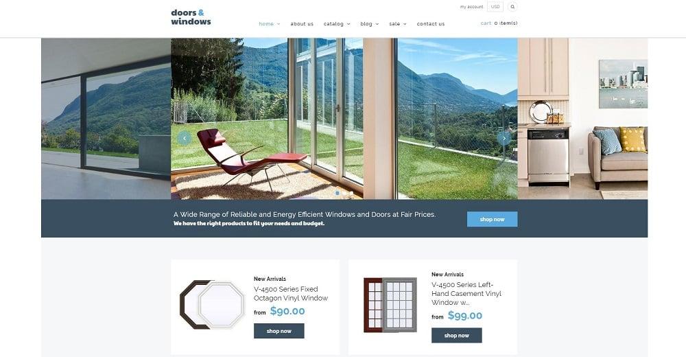 Windows & Doors Responsive Shopify Theme