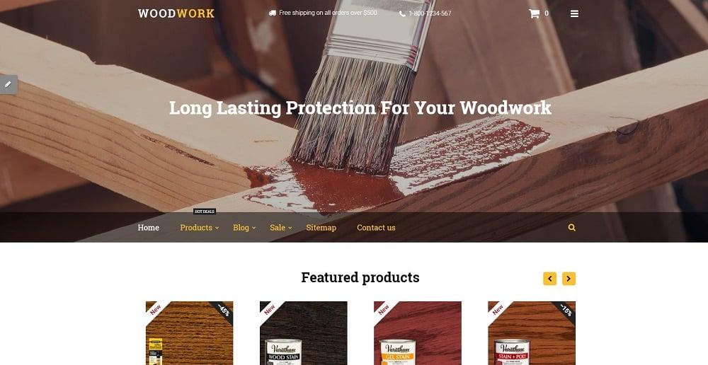 Woodwork Shopify Theme