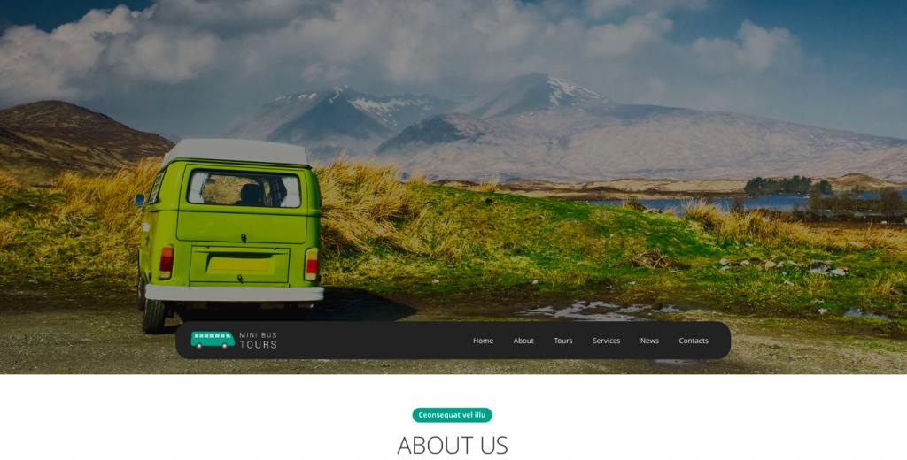 Pro Travel Website Template
