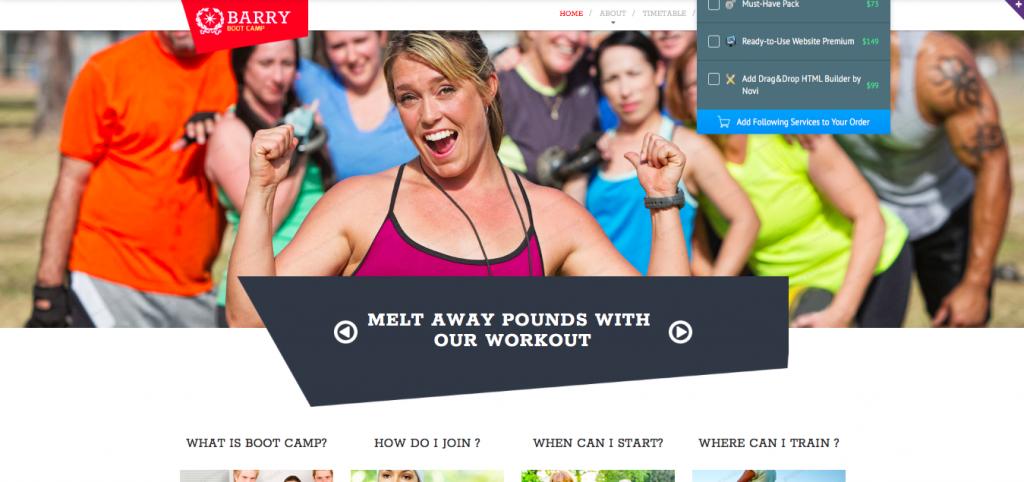 Camping Responsive Website Template