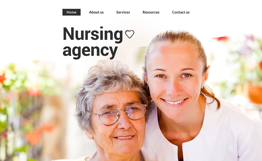 Nursing Agency Website Template