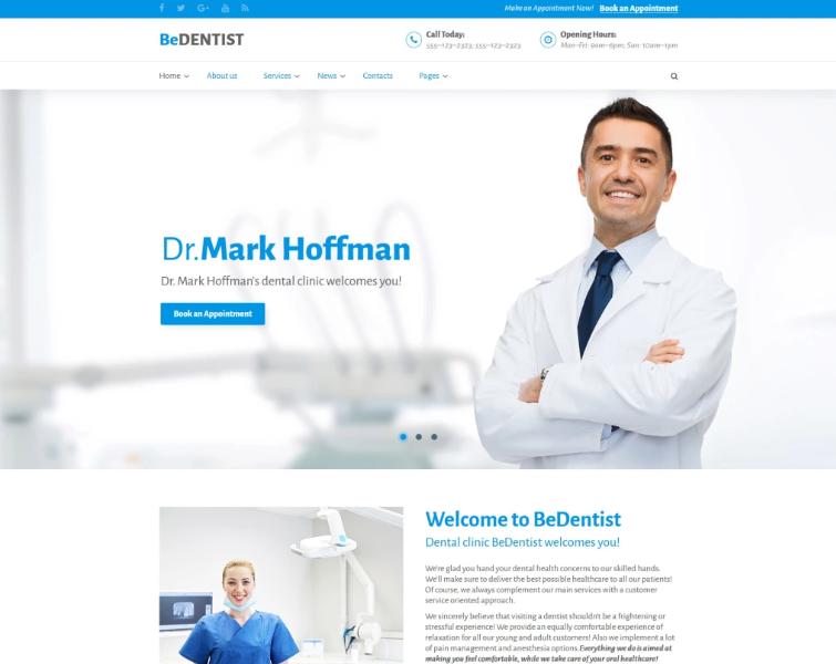 Medical Website Design Template from www.templatemonster.com