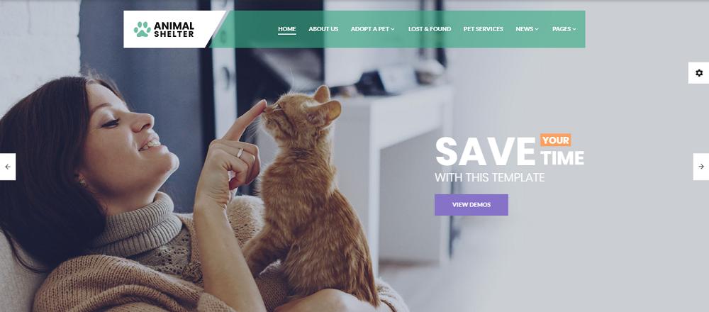 Animal Shelter - Animal Care Responsive Website Template