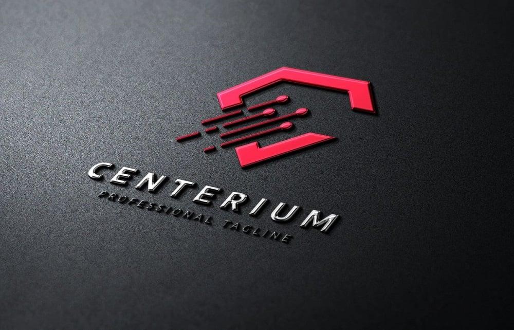 Centerium C Letter Logo Template