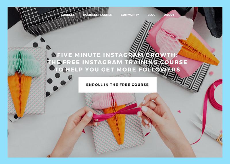 instagram training courses