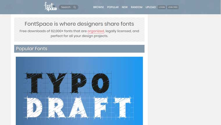 FontSpace.