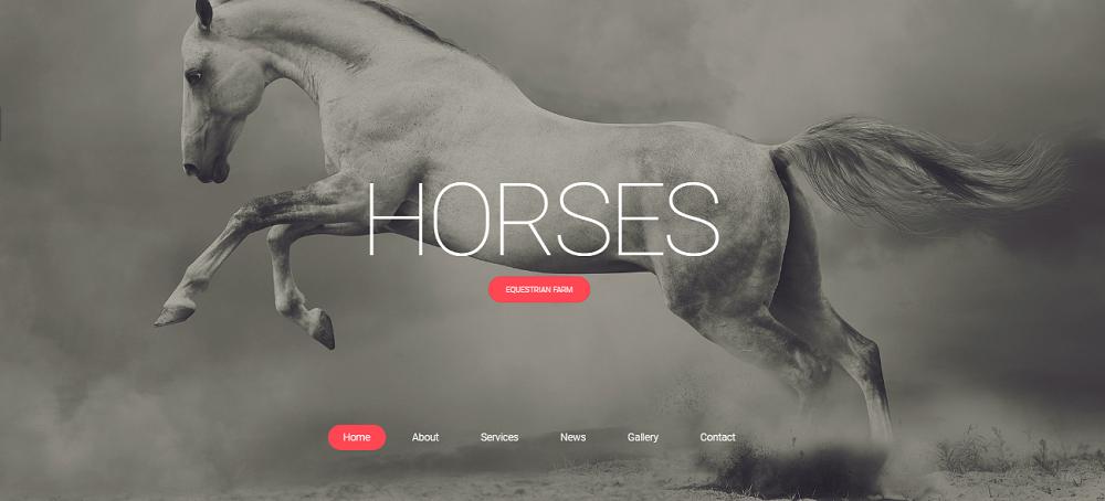 Horsepower Website Template