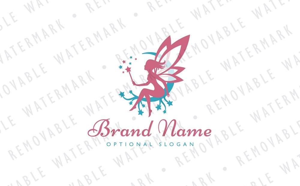 Magical Fairy Logo Template