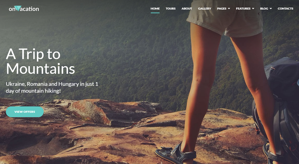 OnVacation - Travel Company Elementor WordPress Theme