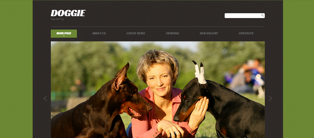 Puppy Courses Website Template