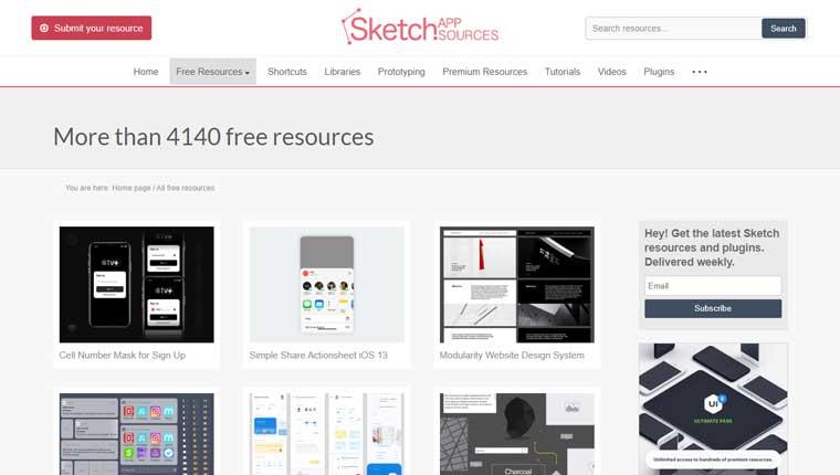 Sketch App Sources.