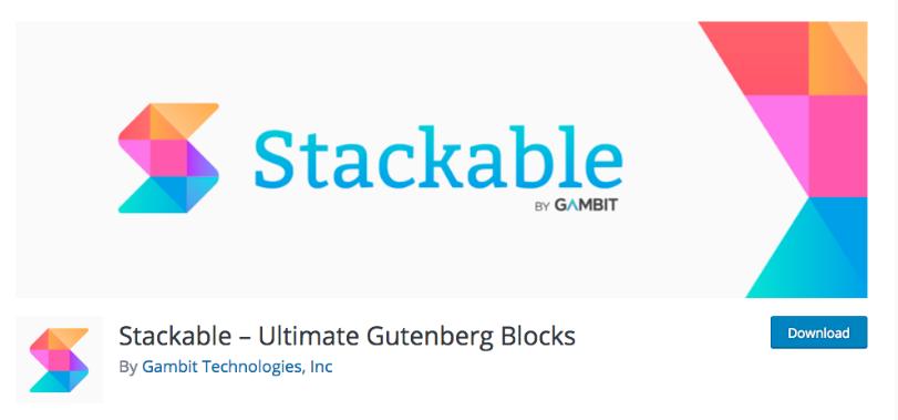 Stackable – Ultimate Gutenberg Blocks