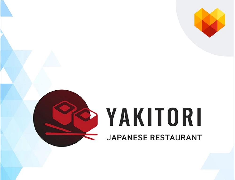 Yakitori - Sushi Restaurant Logo Template