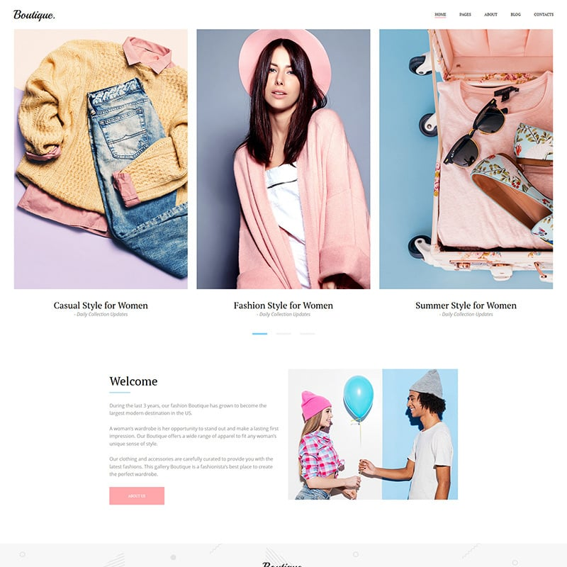 Fashion Photo Gallery Template