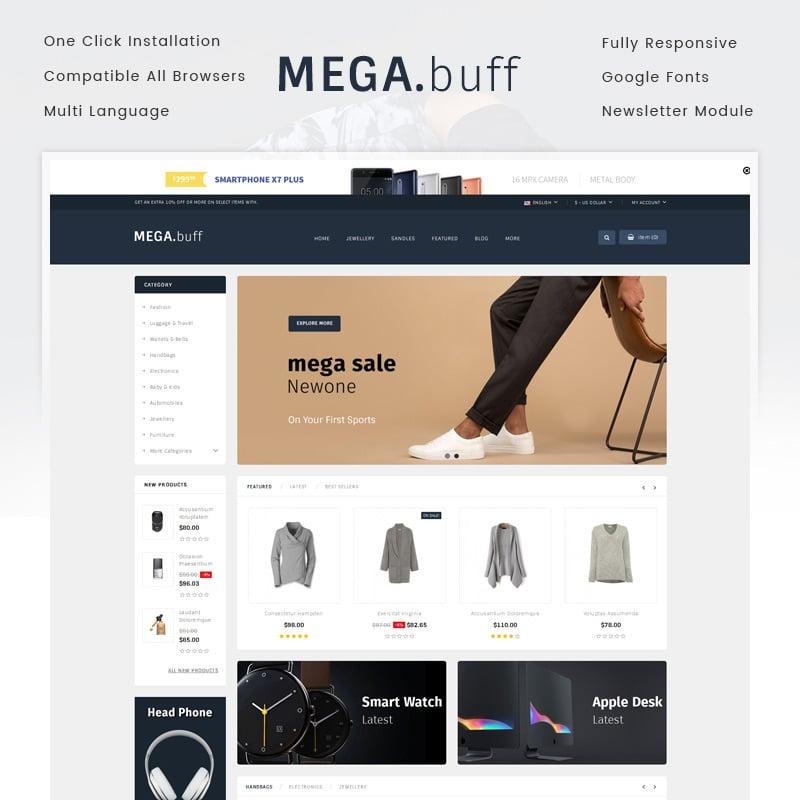 Multipurpose Store OpenCart Template
