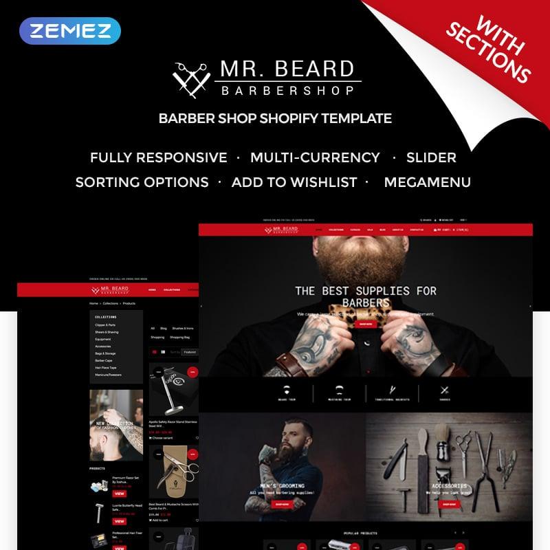 Barbershop Shopify Theme