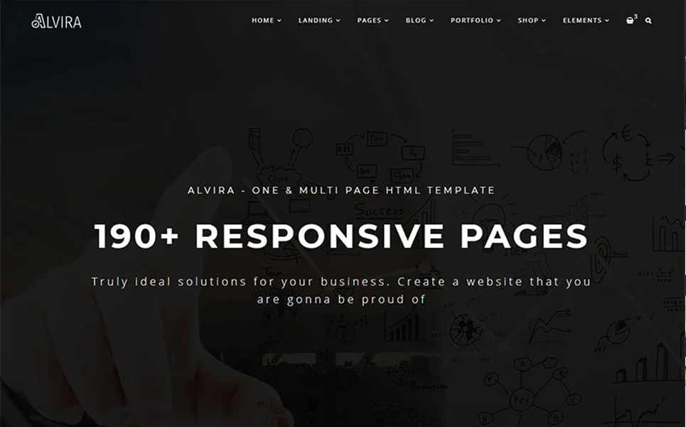 alvira-one-and-multi-page-html-website-template