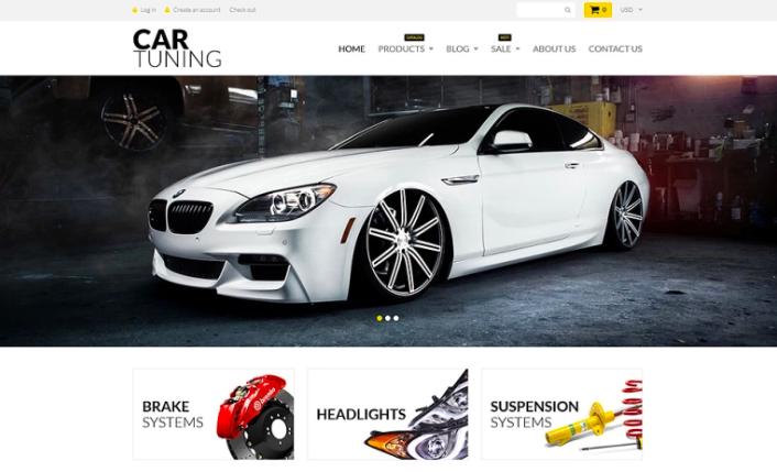 Car Tuning Shopify Theme