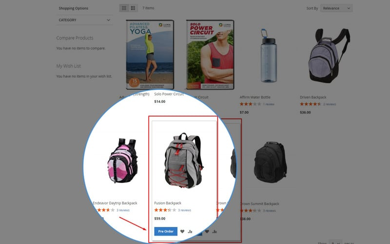 Category Page Detail