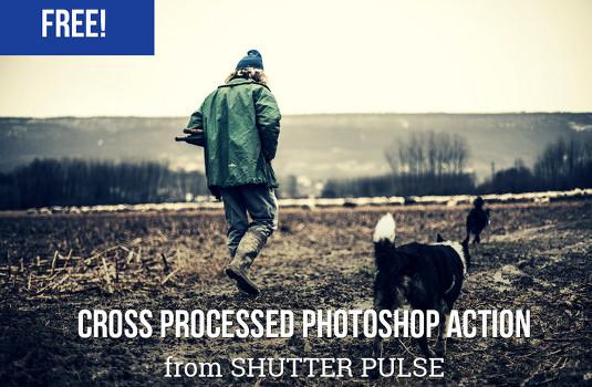 cross processed effect
