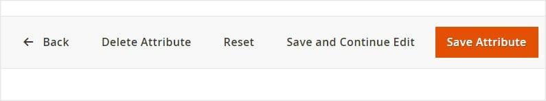 Delete Order Attribute Option
