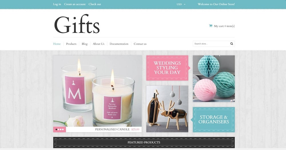 Elegant Gifts Shopify Theme