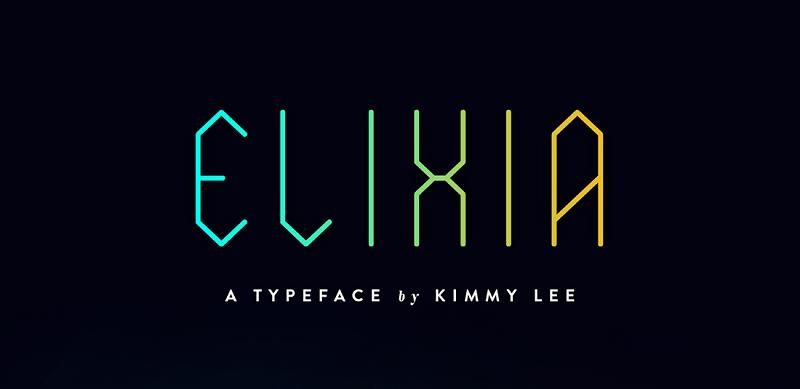 ELIXIA Typeface