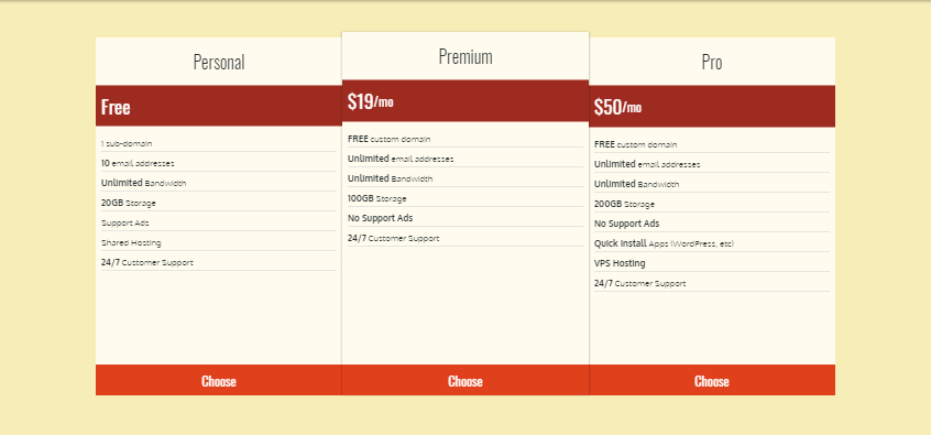 Flexbox Pricing