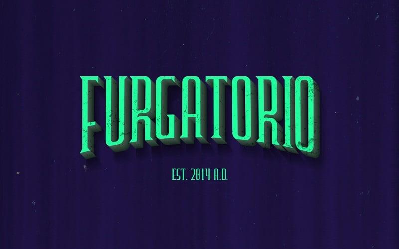 Furgatorio-Typeface