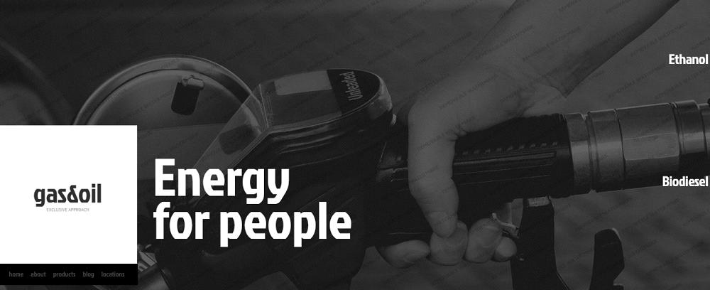 Gas & Oil Website Template