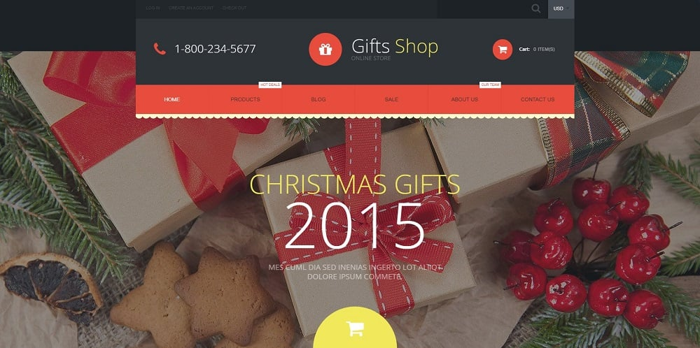 Gifts Shop Shopify Theme