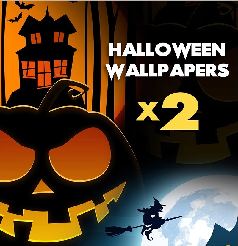 Halloween Desktop Wallpapers Illustration